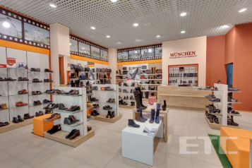 """MUNCHEN"" shoe store, Kiev"