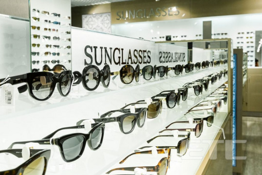 Eyewear duty-free shop, Boryspil International airport (Kiev, Ukraine)
