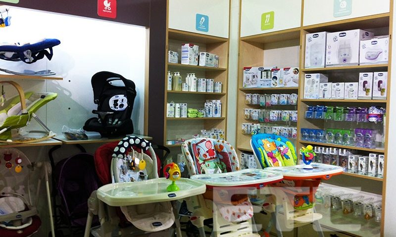 "Stand Chicco at the Int.l Trade Fair ""World of Childhood"""