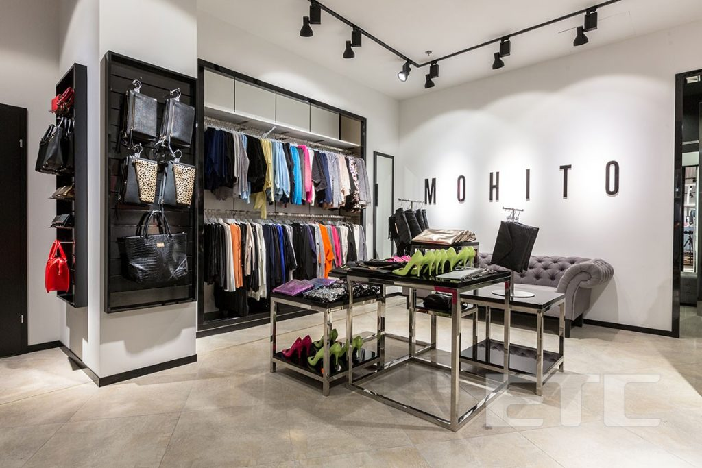 Mohito shop kiev for Parlour equipment