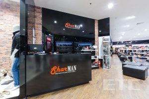 commercial furniture for shoe store